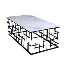 "Marble Top Coffee Table - 24""W , 46230"