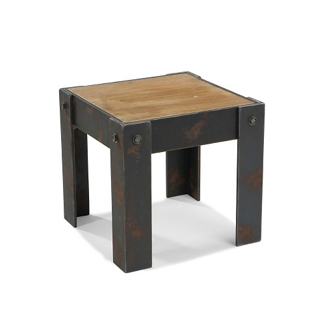 """Rustic End Table -16.5""""W, 46233"""