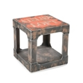 "Industrial Side Table - 16""W, 46234"