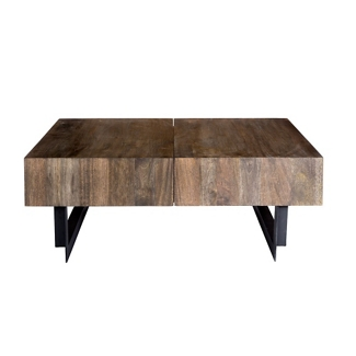 "Solid Wood Coffee Table - 42.5""W, 46239"