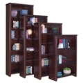 "Cherry 60"" Open Bookcase, 32927"