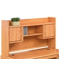 Medium Oak Two Door Hutch, 10915