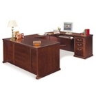 "Traditional U Desk with Right Return - 68.25""W x 108""D, 11341"