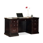 Espresso Compact Executive Desk, 13263