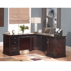 Fulton Compact L-Desk with Right Return, 15987
