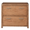 "Lateral File with Metal Accents - 33""W, 30092"