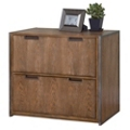 """Wire Brushed Lateral File with Steel Frame - 33.25""""W, 30865"""