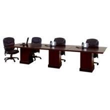 12' Rectangular Modular Conference Table, 40991