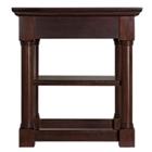 "Veneer End Table with Shelf - 28""W x 22""D, 41717"