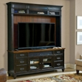 Storage TV Stand with Hutch, 43423