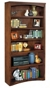 "72""H Mission Open Bookcase"