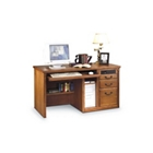 Wheat Oak Deluxe Computer Desk, 15577