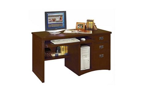Mission Finish Computer Desk, 15678