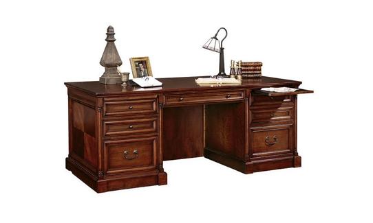 Veneer Executive Desk, 15513