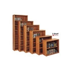 "Medium Oak Three Shelf Bookcase - 36""H, 32474"