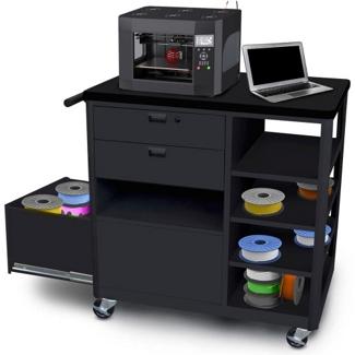 Mobile Three Drawer 3D Printer Cart, 43429
