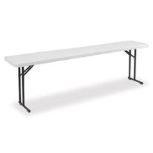 "Folding Seminar Table - 96"" x 18"", 41671"