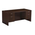 """Napa Double Pedestal Desk 60"""" x 30"""", CD05564"""