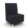 Modern Fabric or Vinyl Armless Chair, 25796