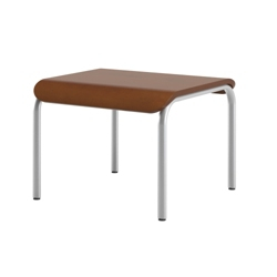"Curved End Table - 22""W, 25874"