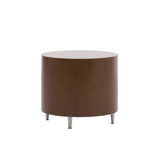 "Modern Round End Table - 24"" Diameter, 53004"