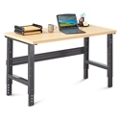 "Annex Industrial Adjustable Height Compact Desk - 60""W , 14324"