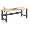 "Annex Industrial Adjustable Height Executive Desk - 72""W , 14326"