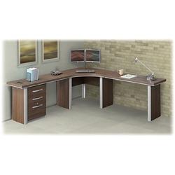 "Metropolitan Corner Desk with Pedestal - 47""W, 14361"
