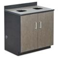 Waste Management Cabinet Set, 36627