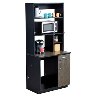 Appliance Cabinet with Hutch Set, 36628