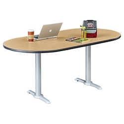 """Frappe Oval Table - 72""""W , 46017"""