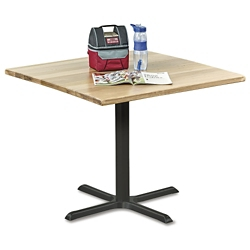 "Rustico Solid Wood Top Table - 36""W, 46054"