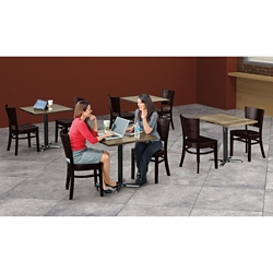 Rustico Tables and Chairs Set, 46057