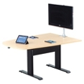 "Eleve Adjustable Height Media Table - 84"" x 42"", 46098"
