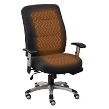 Comfortemp Fabric Task Chair with Heated Seat and Back, 50905