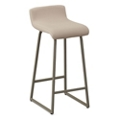 Work Sit Low Back Stool in Fabric or Polyurethane, 50911