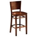 Rustico Solid Wood Café Stool, 55615