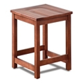 Rustico Solid Wood Counter Height Café Stool, 55622