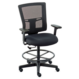 Perspective Mesh Back Stool, 56045