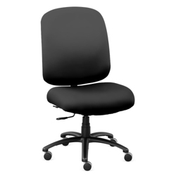 Extra Big & Tall Faux Leather Chair, 56610
