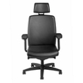 High Back Leather Chair with Headrest, 57117