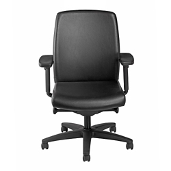 Mid Back Vinyl Chair, 57118