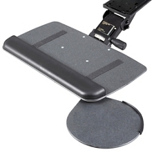 Solutions Keyboard Tray with Swivel Mouse Platform, 91278