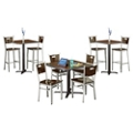 Frappe High Low Table Set, 46049