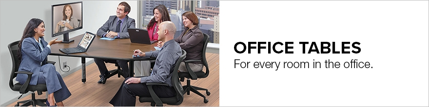 Office Tables - Multiple Heights & Sizes