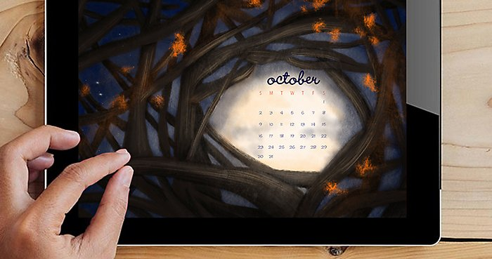 October 2016 Free Downloadable Wallpaper | NBF Blog