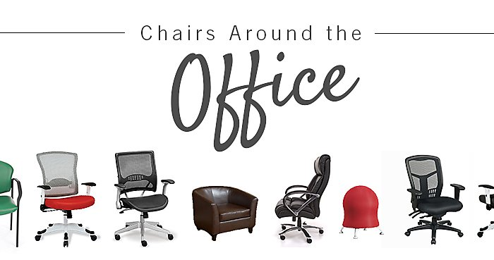 Chairs Around the Office - Nicole Sedivy's ProLine Pro Grid High Back Chair | NBF Blog