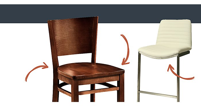 What is the Difference Between Counter and Bar Height Stools