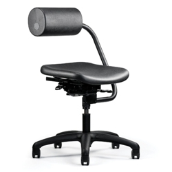 Support Pillow Fabric Task Chair, 56588