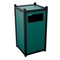 Single Sideload Waste Bin 26 Gallon Capacity, 85449